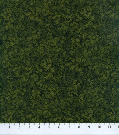 Legacy Studio Cotton Fabric -Lime Floral