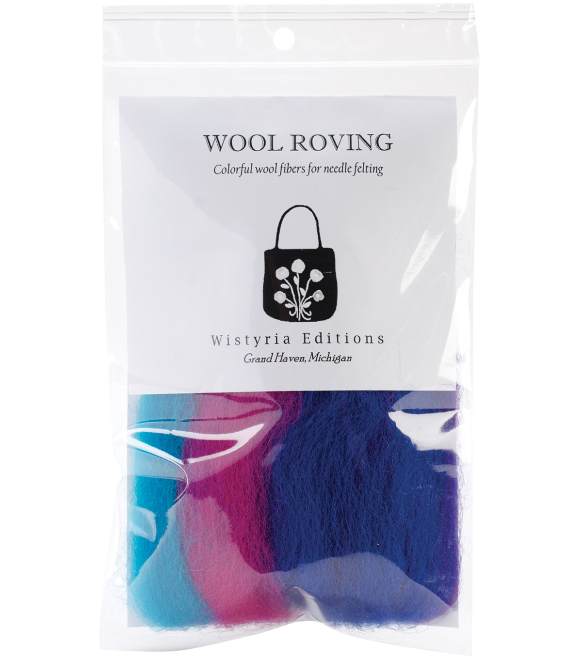 Wool Roving Stripe 12\u0022 .25oz-Jester