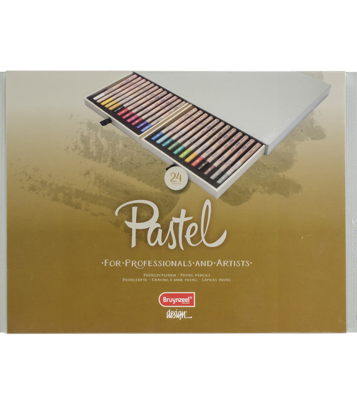 Bruynzeel Design Pastel Pencil Set 24/Pkg
