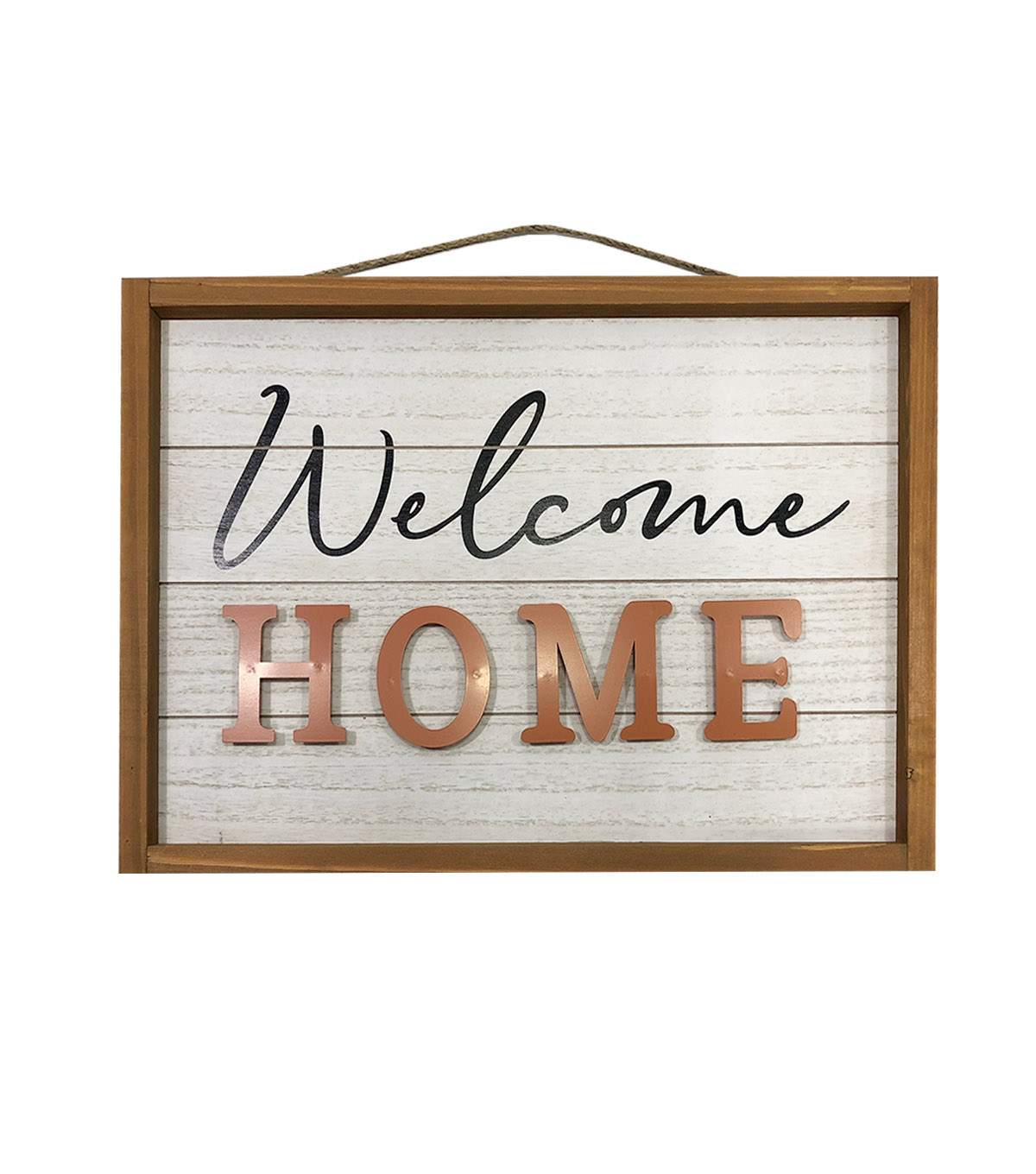 Simply Autumn Panel Wall Decor-Welcome Home