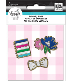 The Happy Planner Girl Enamel Pins - Socialite