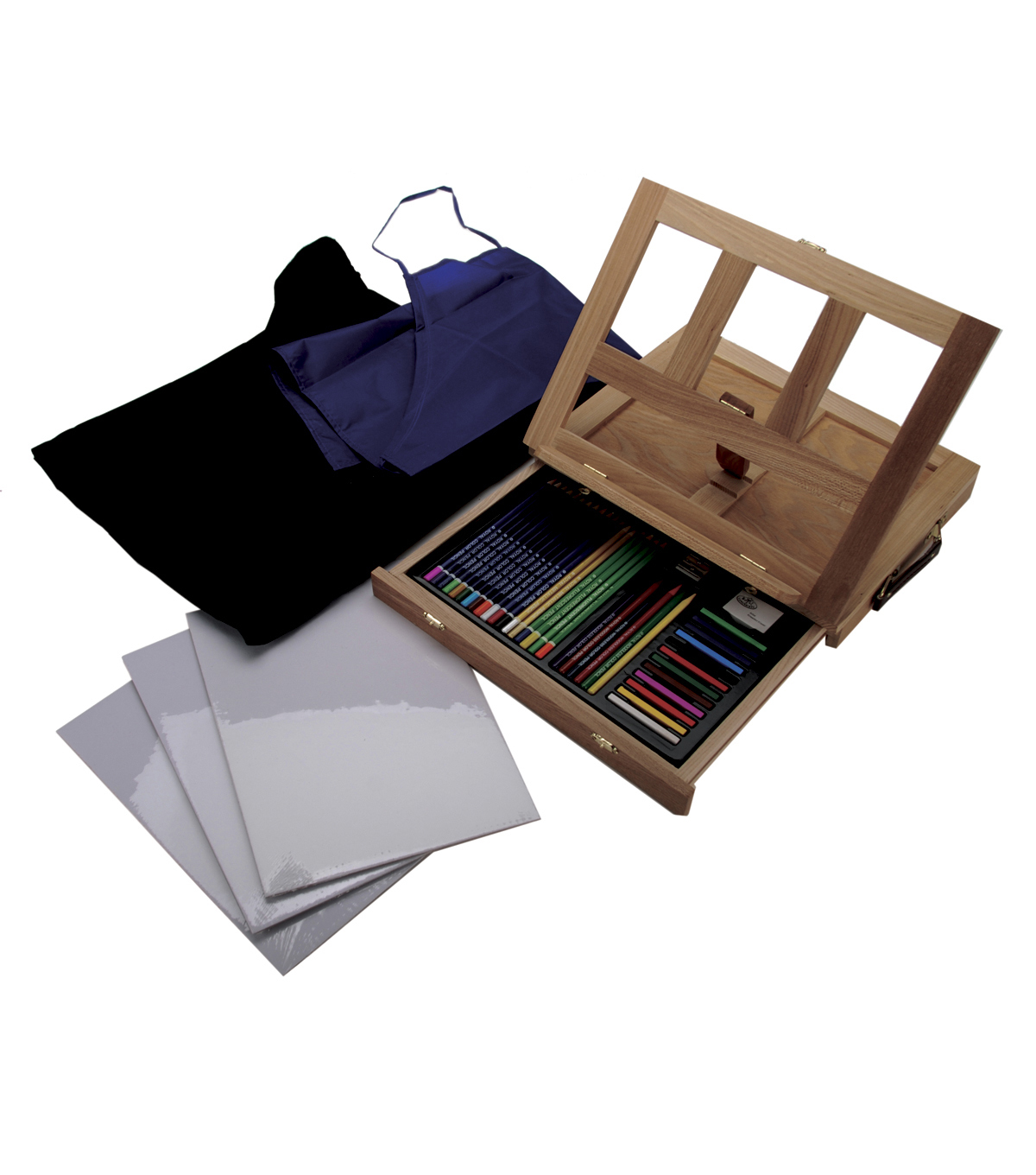 Royal Brush Easel Art Set With Easy To Store Bag-Drawing