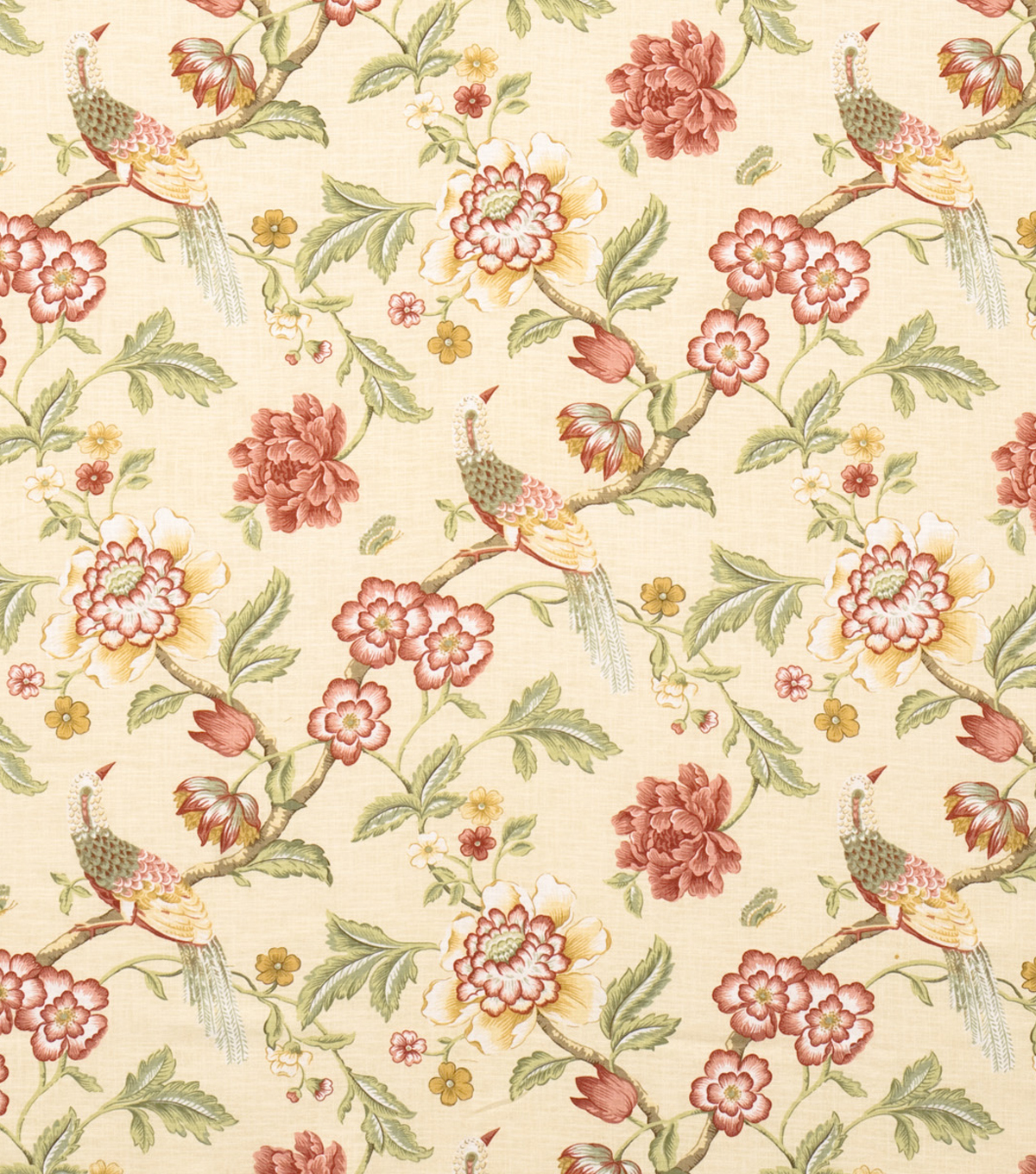 Home Decor 8\u0022x8\u0022 Fabric Swatch-Jaclyn Smith France-Oliveberry