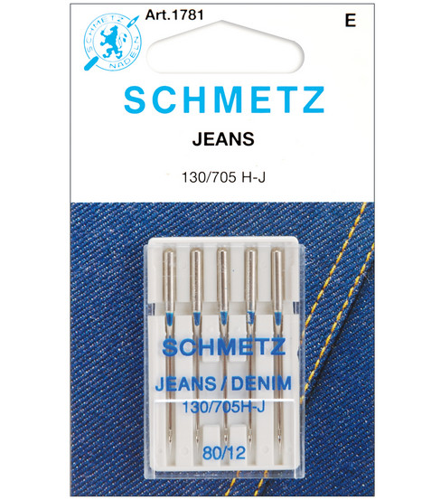 Schmetz DenimJeans Machine Needles 40Pk Size 4040 JOANN Adorable What Size Sewing Machine Needle For Denim