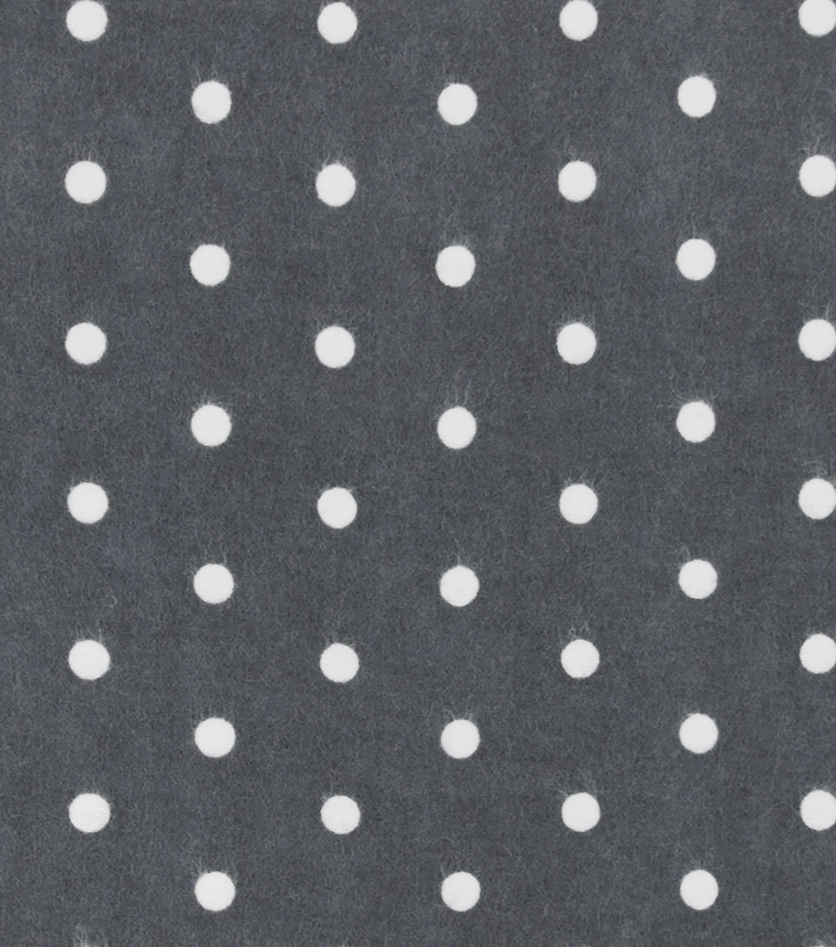 Snuggle Flannel Fabric -Dots on Castle Rock