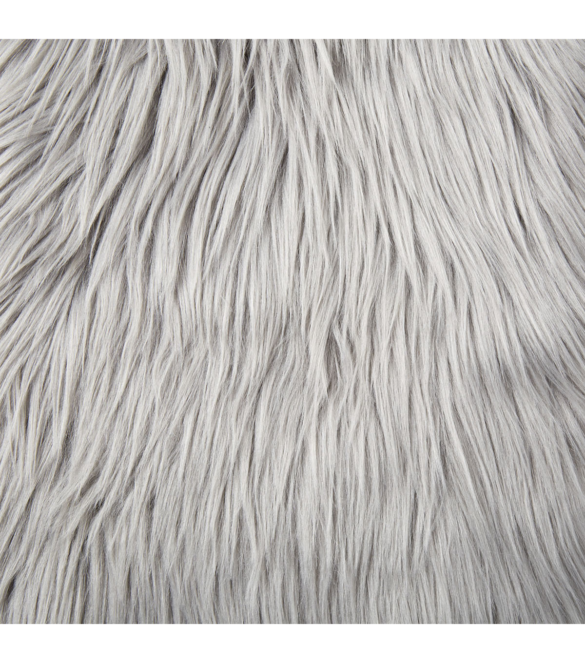 Fashion Faux Husky Fur Fabric Grey
