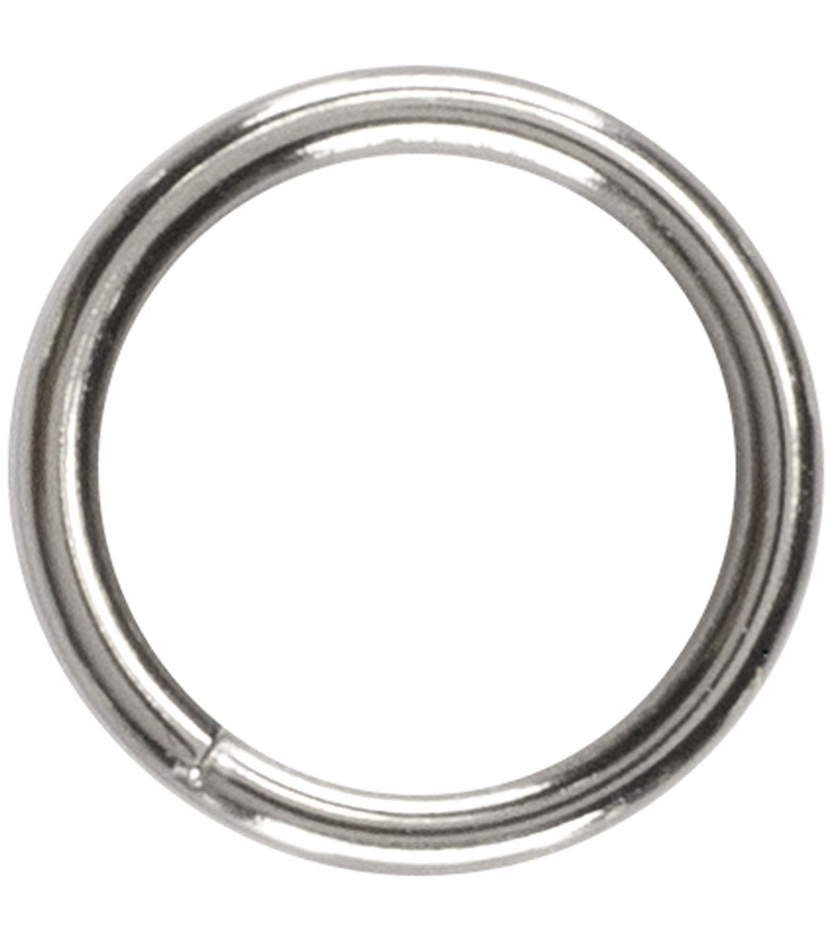 55 Piece 6Mm Split Ring Stainless Steel