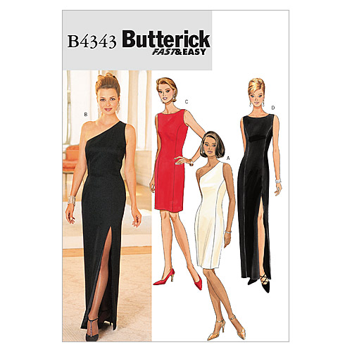 Butterick Misses Special Occasion-B4343