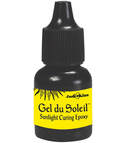 Judikins Gel Du Soleil Sunlight Curing Epoxy Glue 0.3oz
