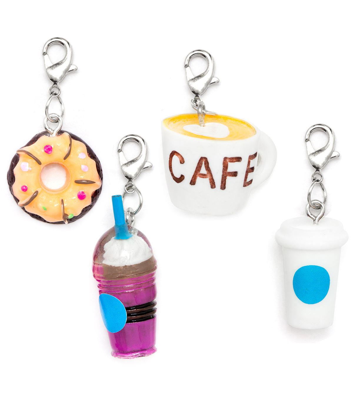 LaurDIY 4 pk But First Coffee Charms