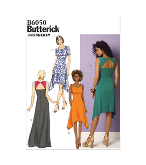Butterick Misses Dress-B6050
