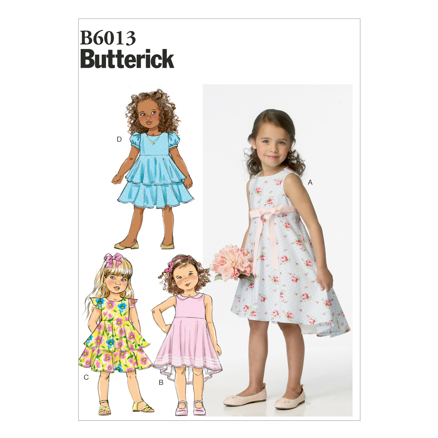 Butterick Child Dress-B6013