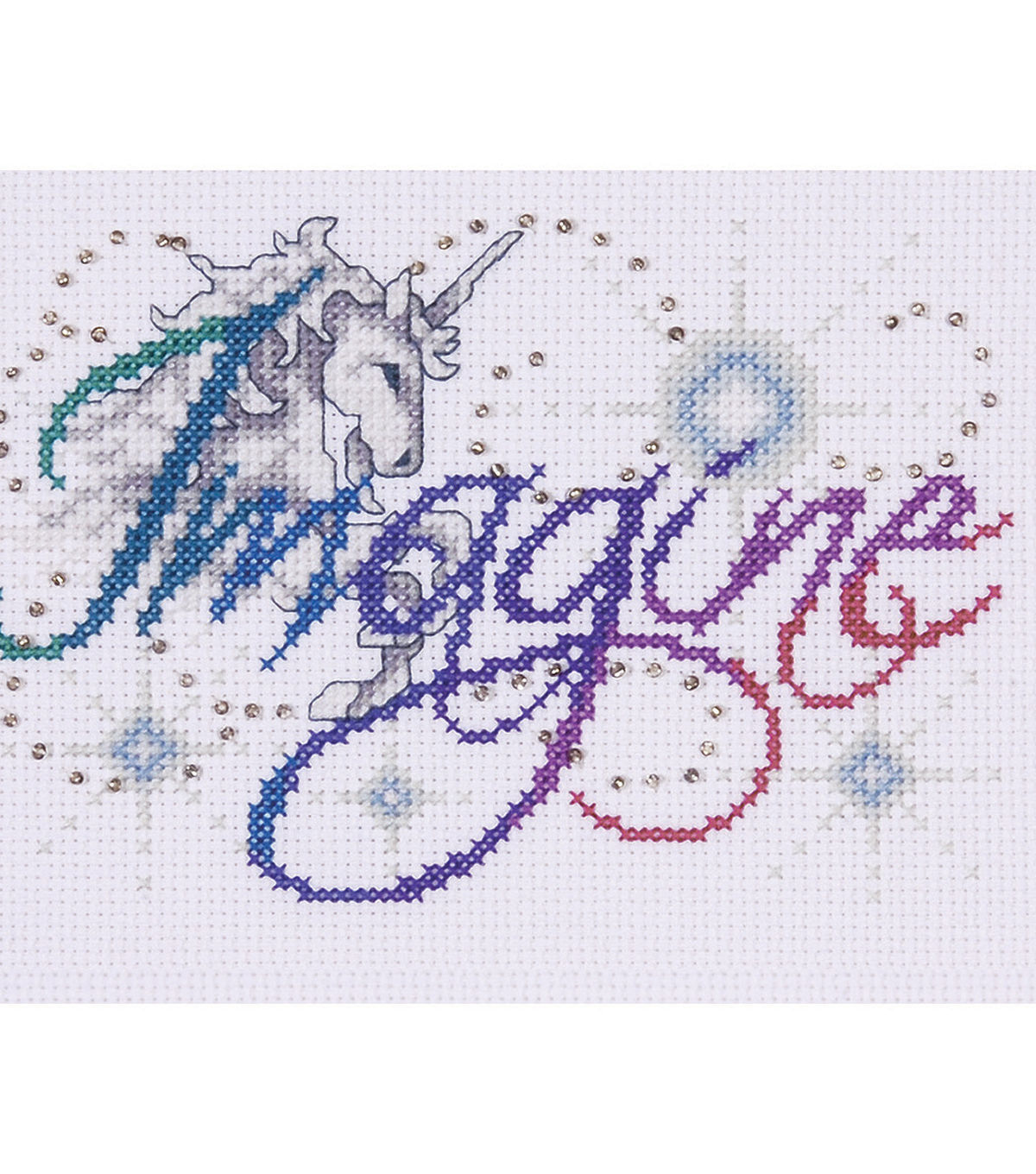 Imagine Counted Cross Stitch Kit 14 Count