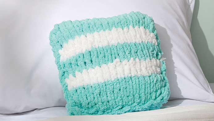 Kids Loop Yarn Pillow