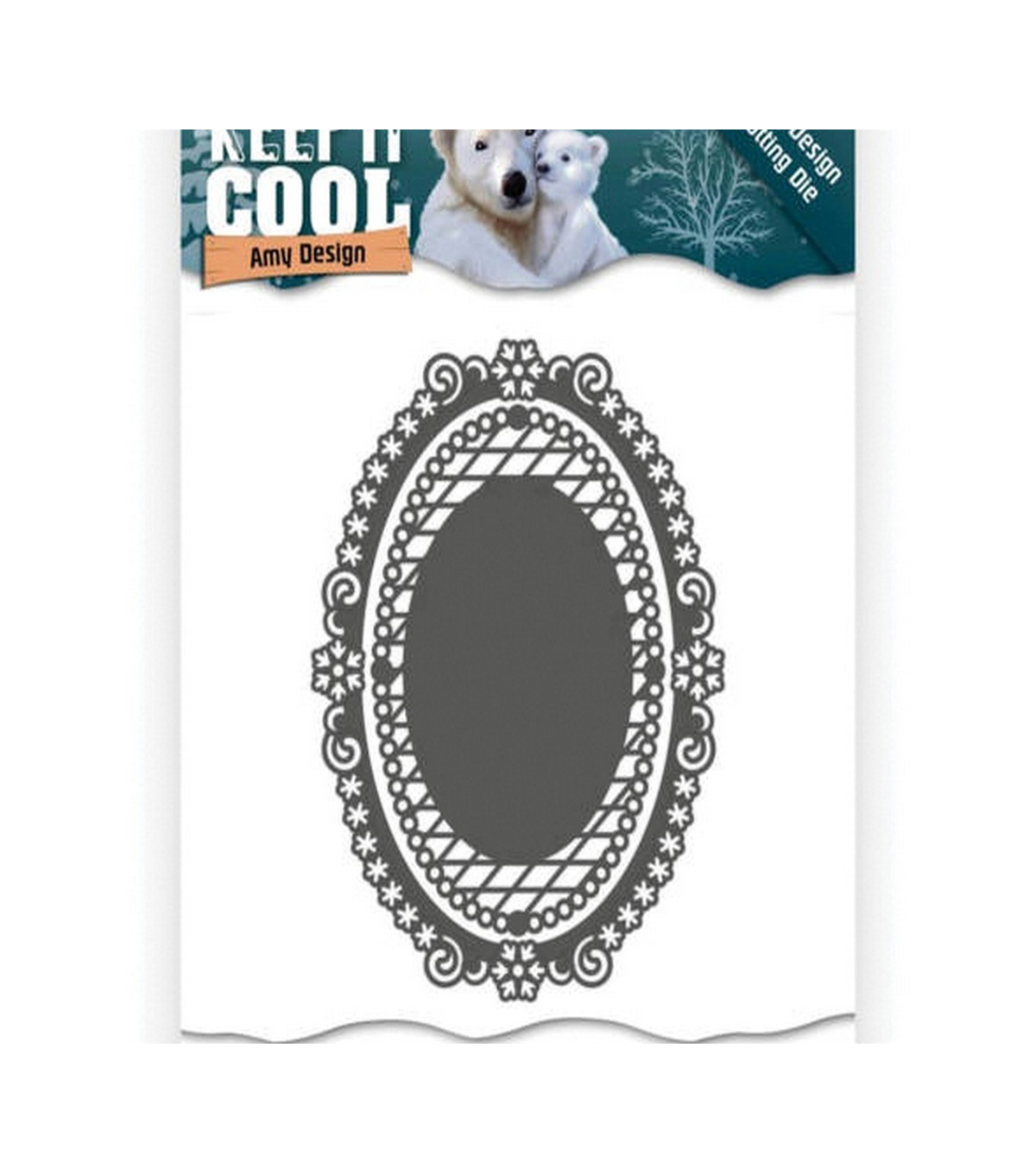 Find It Trading Amy Design Keep It Cool Die-Keep It Oval