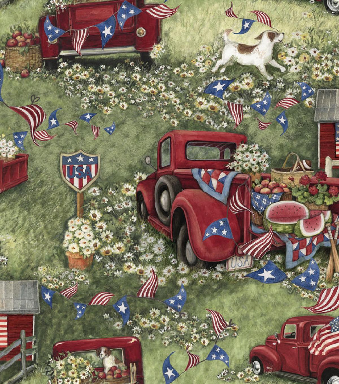 Susan Winget Patriotic Cotton Fabric | JOANN