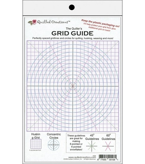 Quilled Creations The Quiller\u0027s Grid Guide