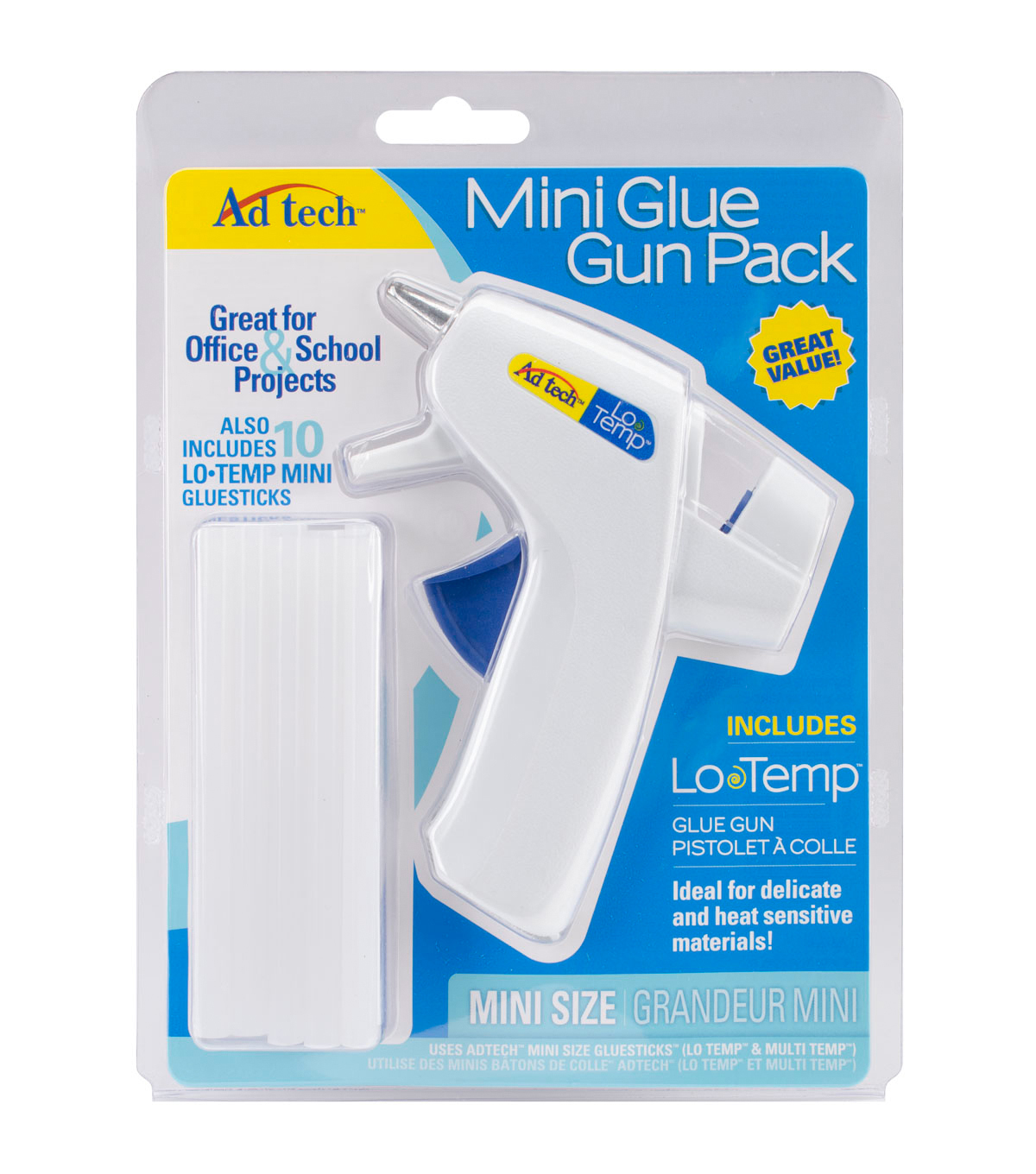 Low Temp Mini Glue Gun Pack