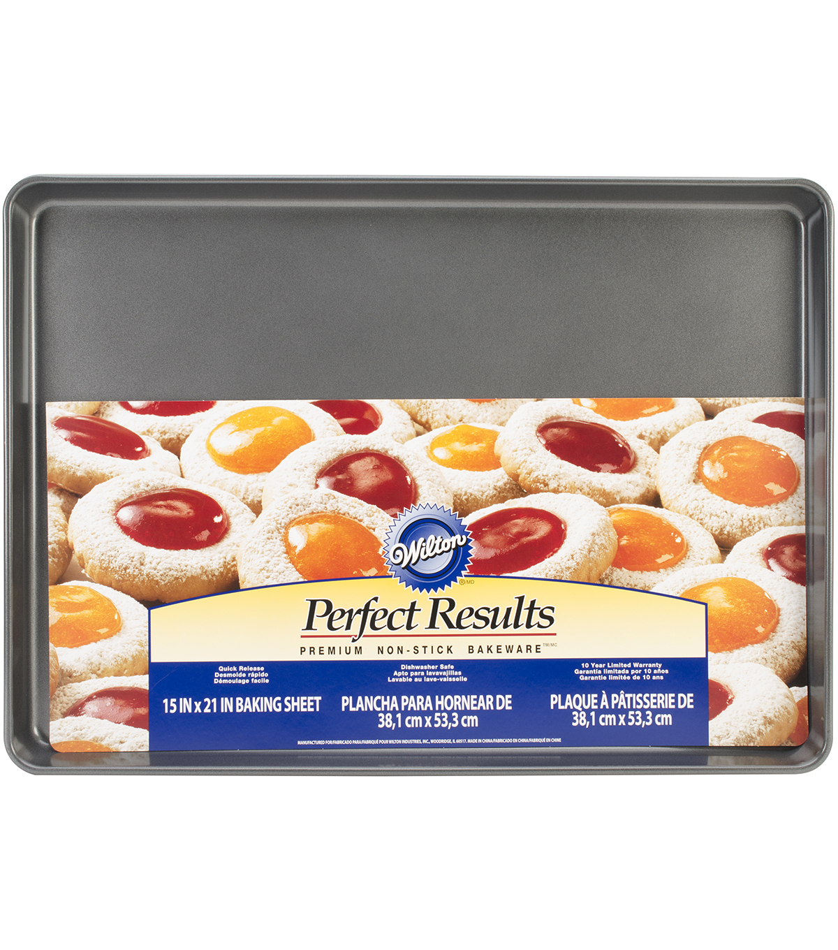 Wilton Mega Cookie Sheet 21\u0022X15\u0022-