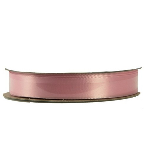 Offray Single Face Satin Ribbon 5/8\u0022-20 Yds, Light Pink