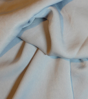 Casa Collection Sanded Satin Fabric -Celestial Blue