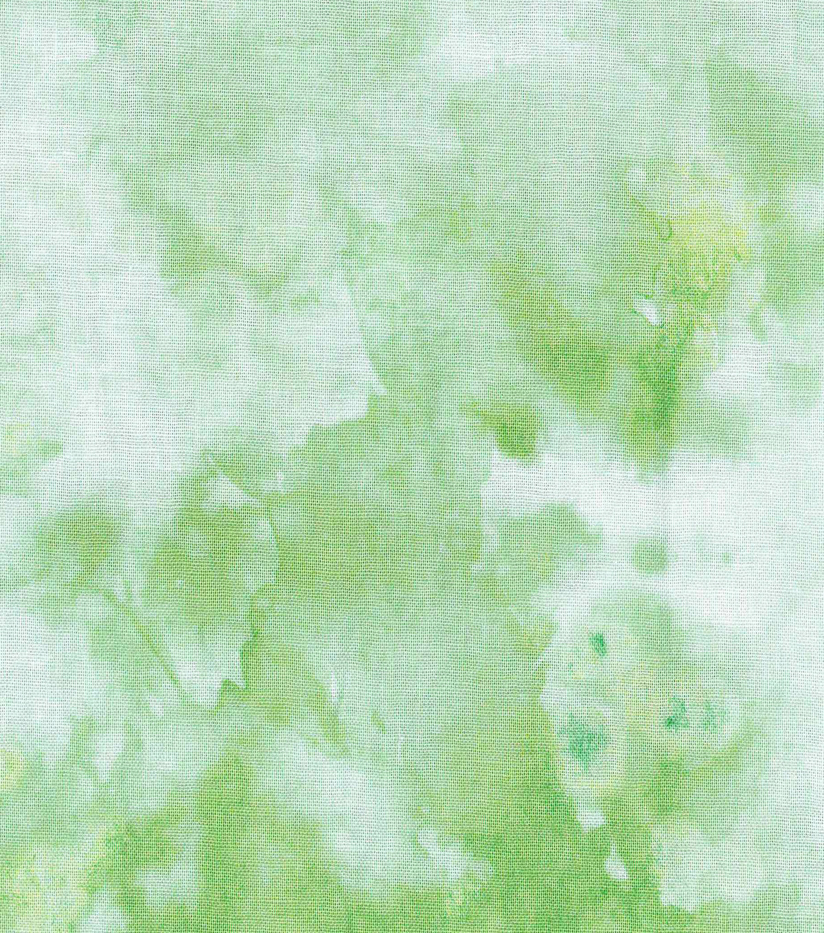 Keepsake Calico Cotton Fabric-Green Watercolor
