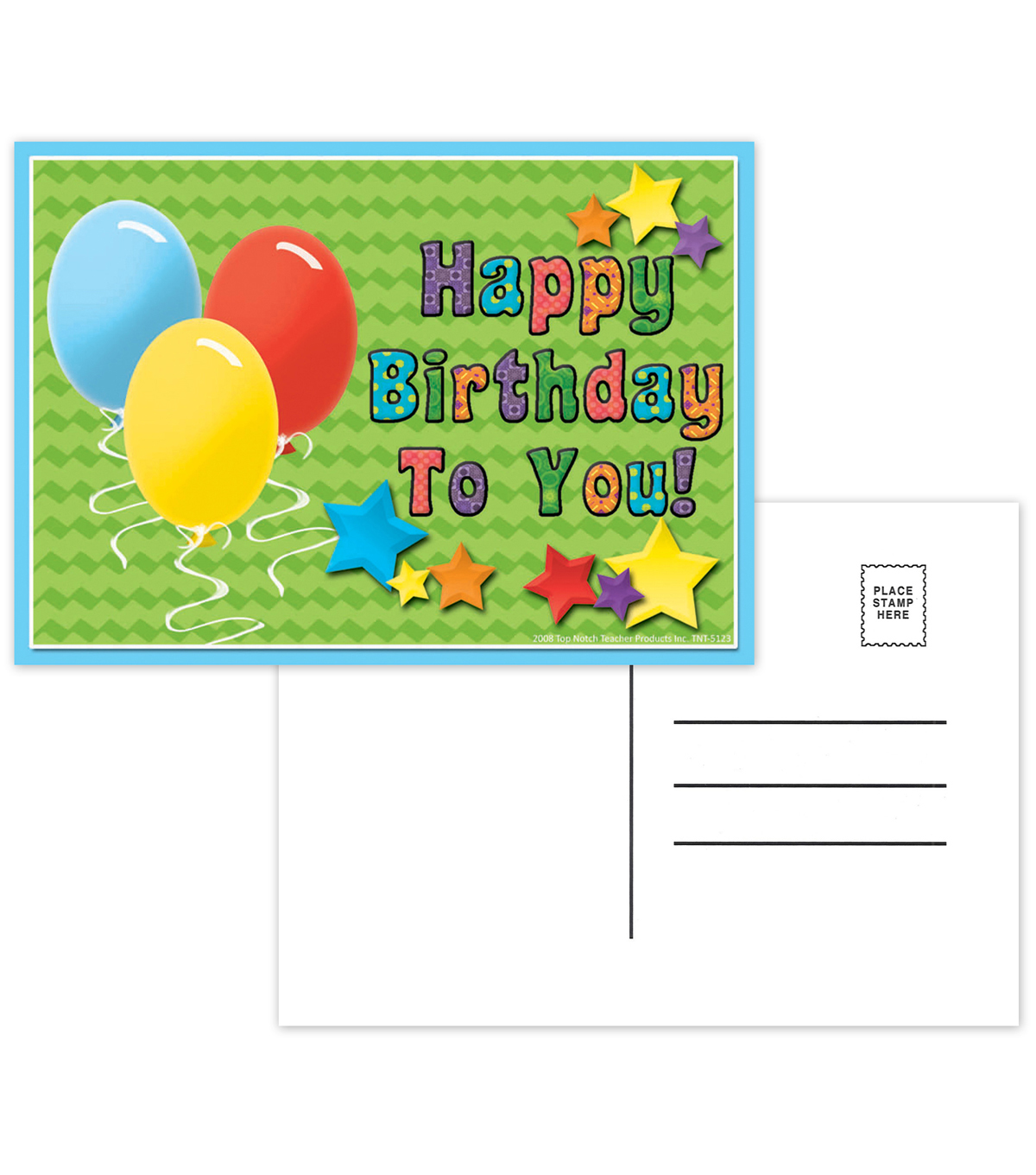 Happy Birthday to You Postcards, 30 Per Pack, 12 Packs