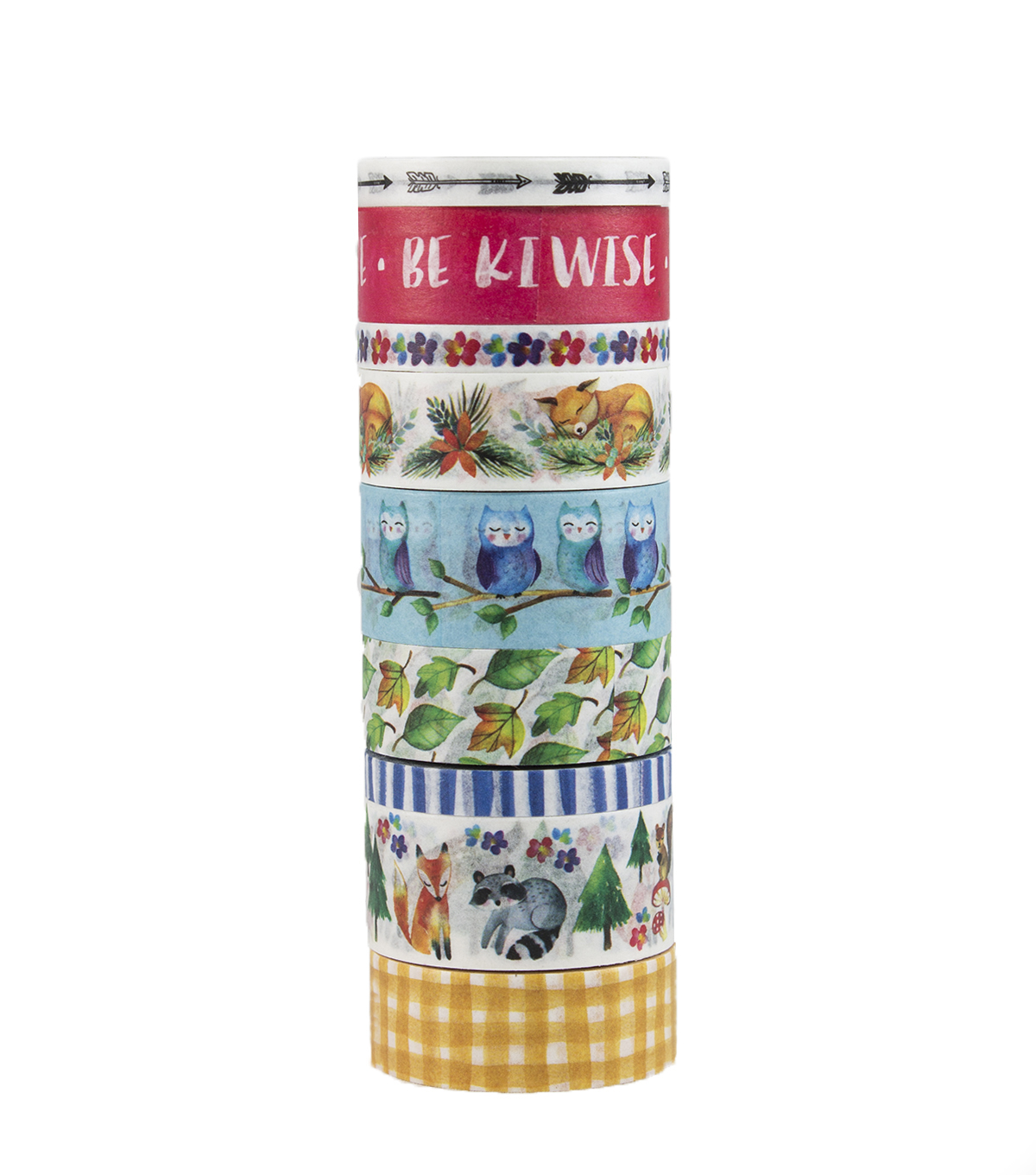 Park Lane 9 pk Washi Tapes-Woodland
