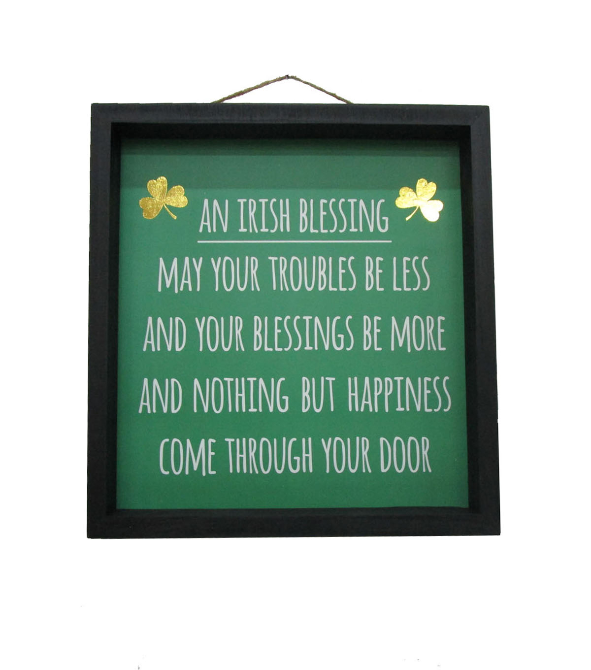 St. Patrick\u0027s Day Wall Decor-Irish Blessing