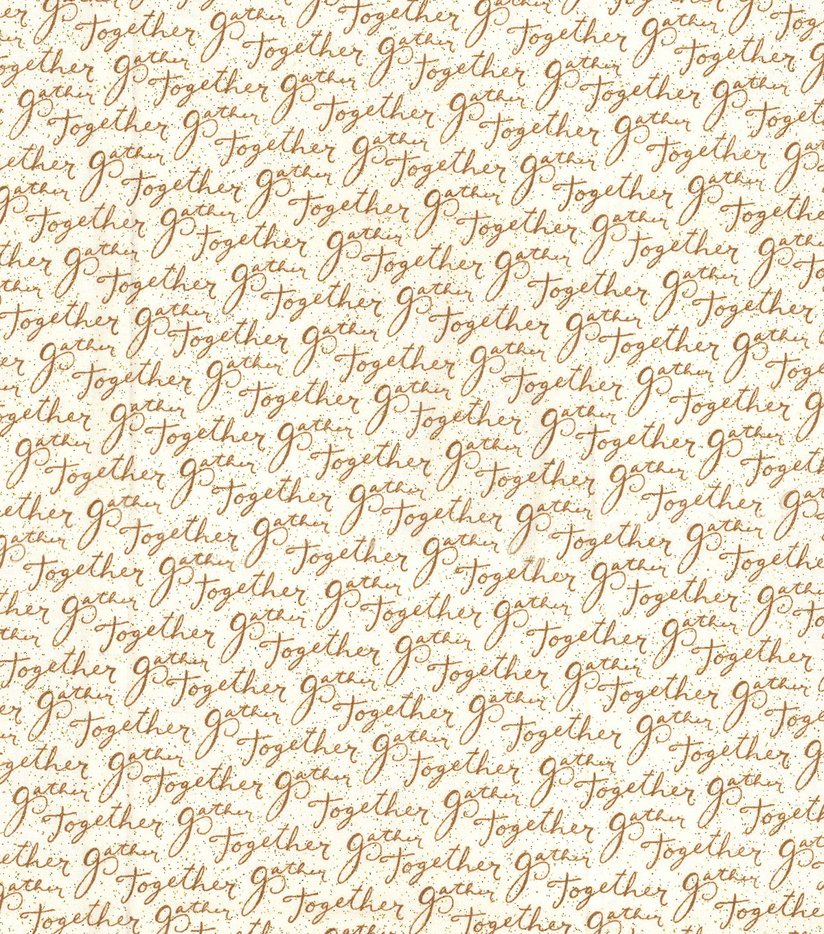 Christmas Cotton Fabric-Metallic Gather Together