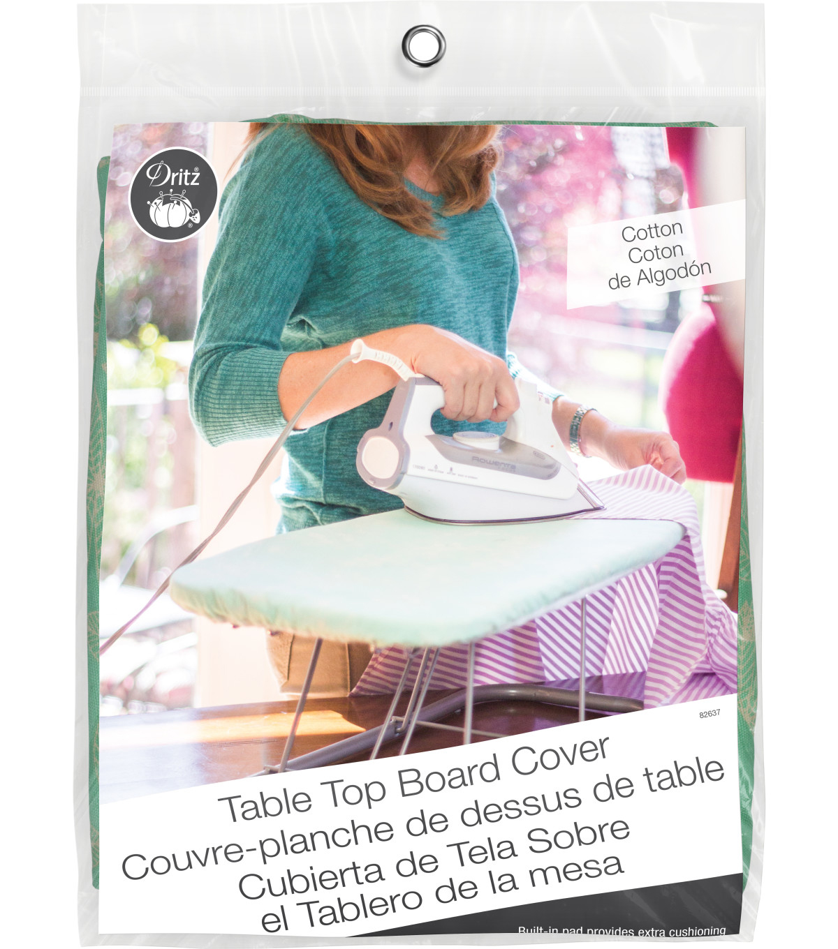 Dritz Ironing Board Cover Table Top Cover Cotton