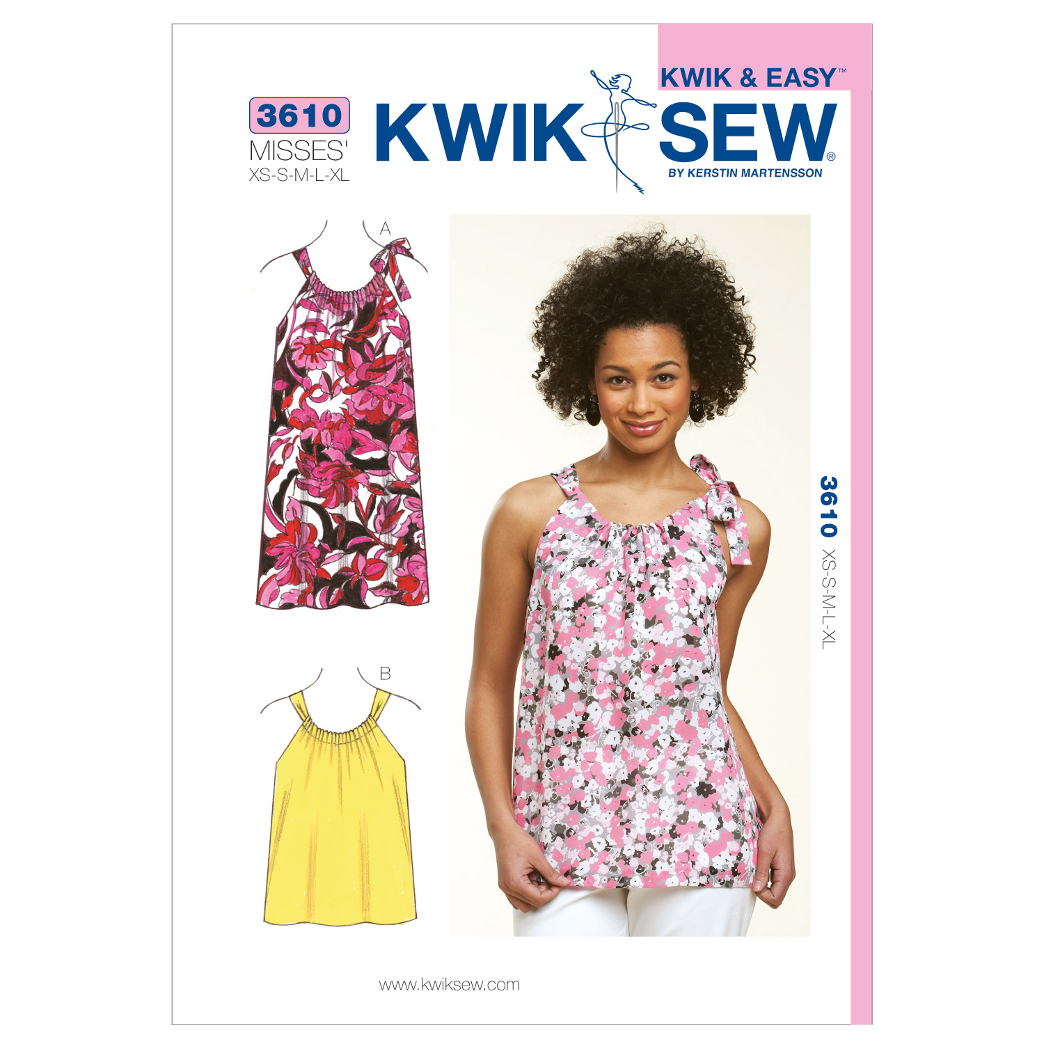 Kwik Sew Misses Dress-K3610