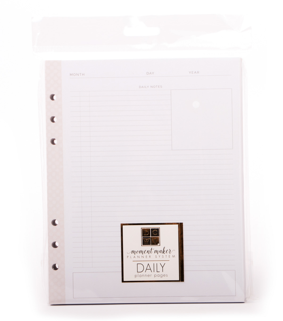 photo regarding Daily Planner named DCWV Minute Manufacturer Planner Method-Every day Planner Internet pages