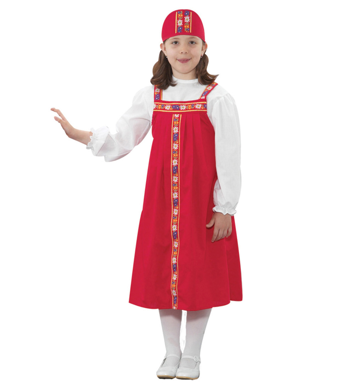 Ethnic Costumes, Russian Girl