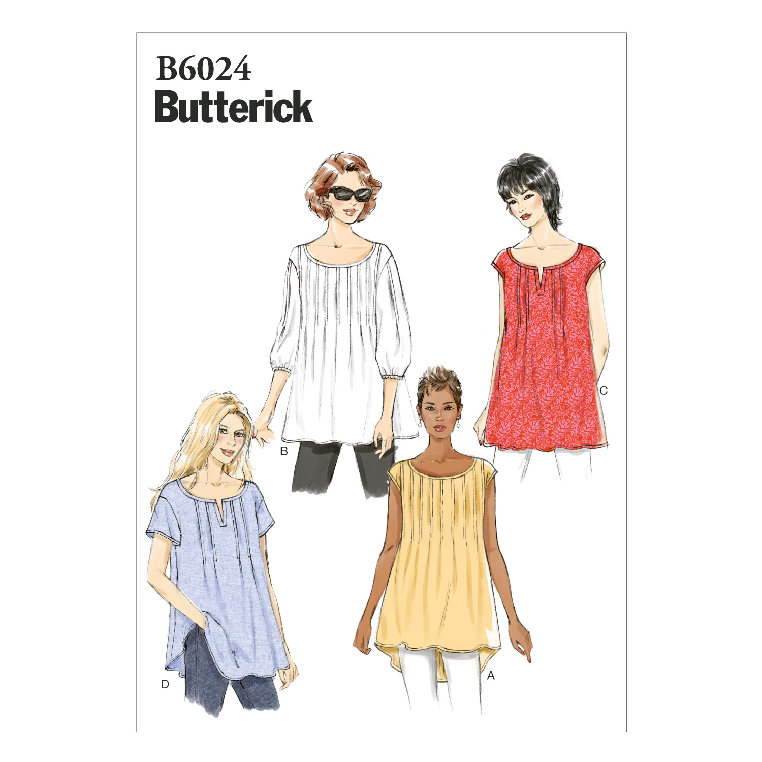 Butterick Misses Top-B6024
