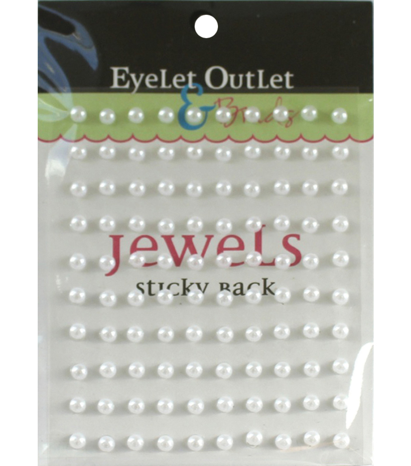 Eyelet Outlet Bling Self-Adhesive Pearls 5mm
