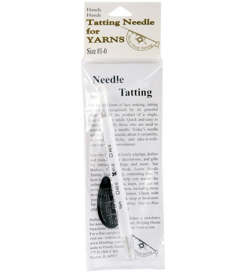 Tatting Needle For Yarn-#1-0