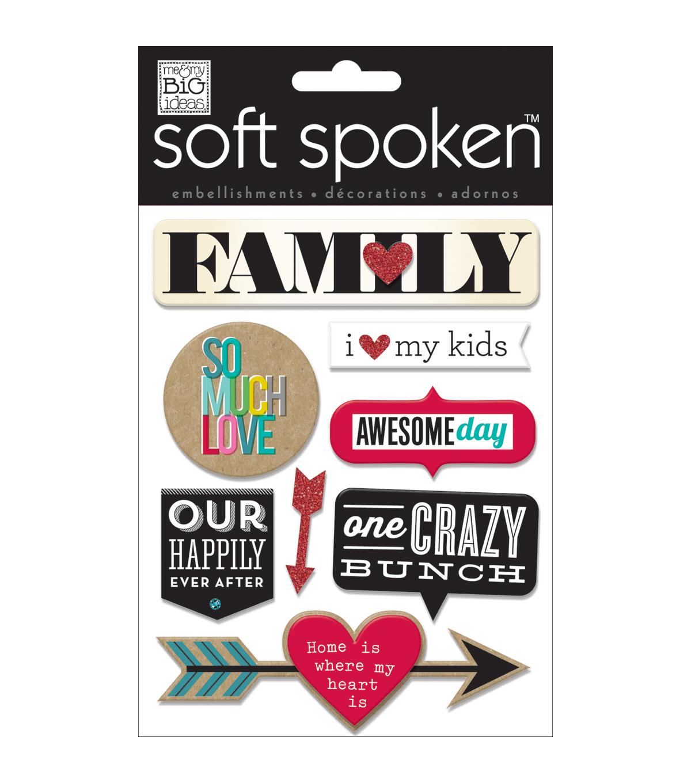 Me My Big Ideas Soft Spoken Family So Much Love Stickers Joann