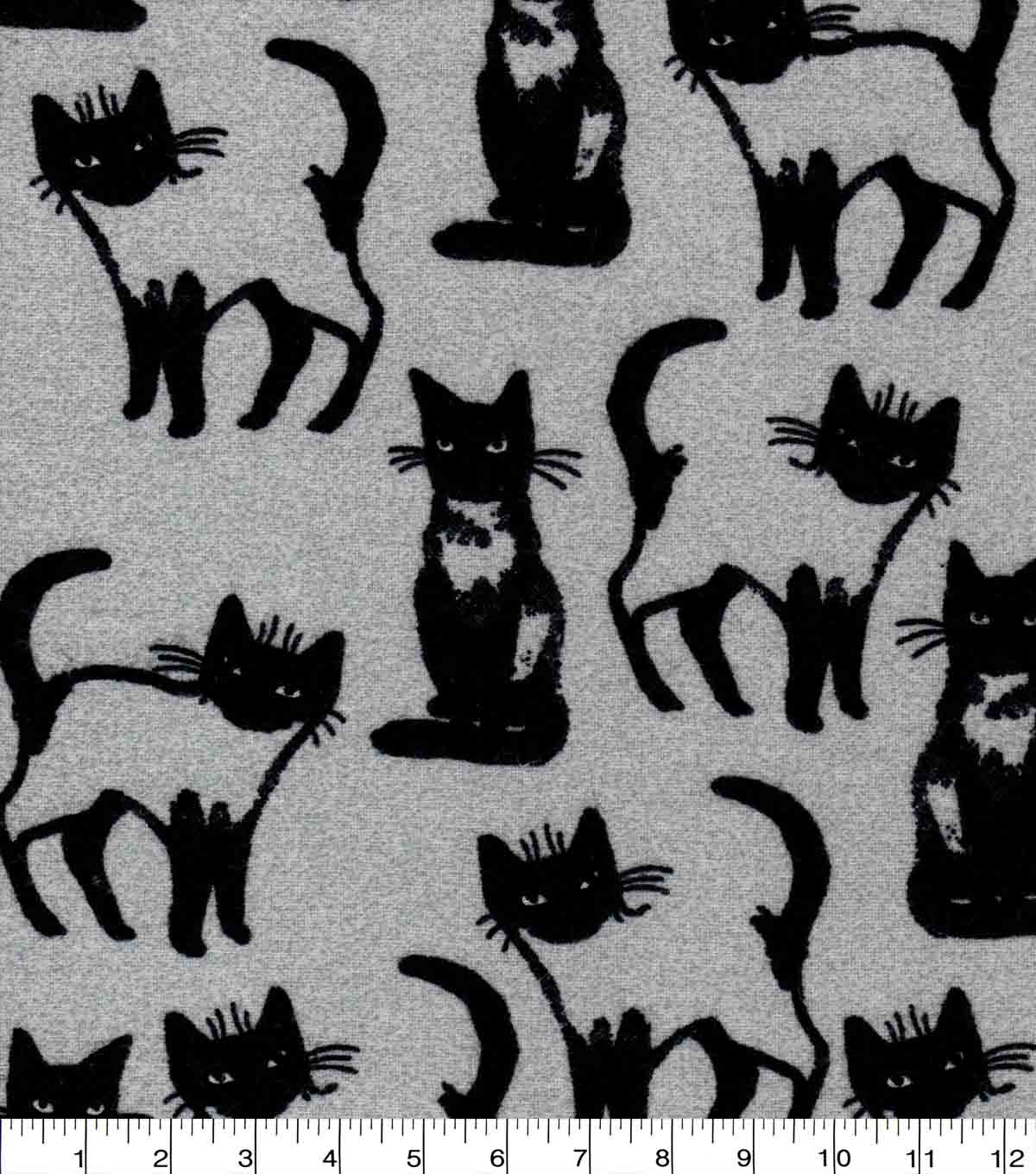 Luxe Flannel Fabric-Cats