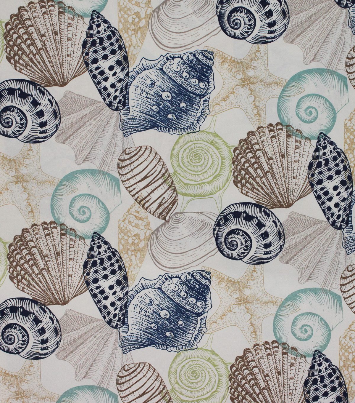 Solarium Outdoor Fabric 54\u0022-Seashell Lagoon