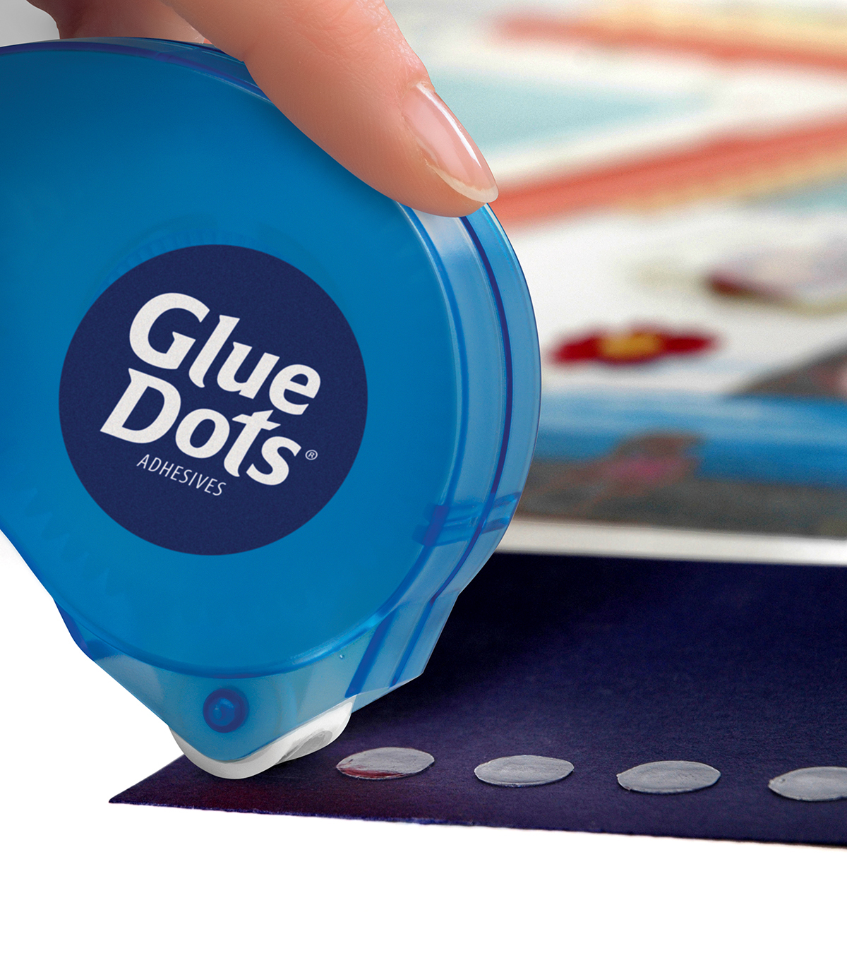 Glue Dots 3/8\u0022 Dot \u0027n Go Dispenser-200PK/Permanent