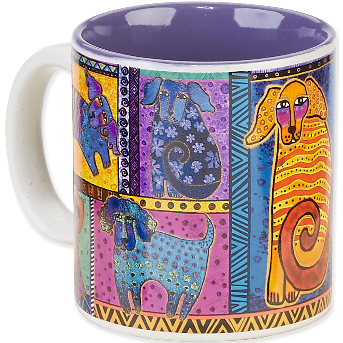Laurel Burch Dog Tails Mug