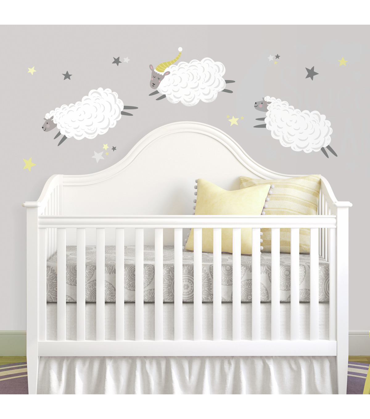 York Wallcoverings Wall Decals-Counting Sheep