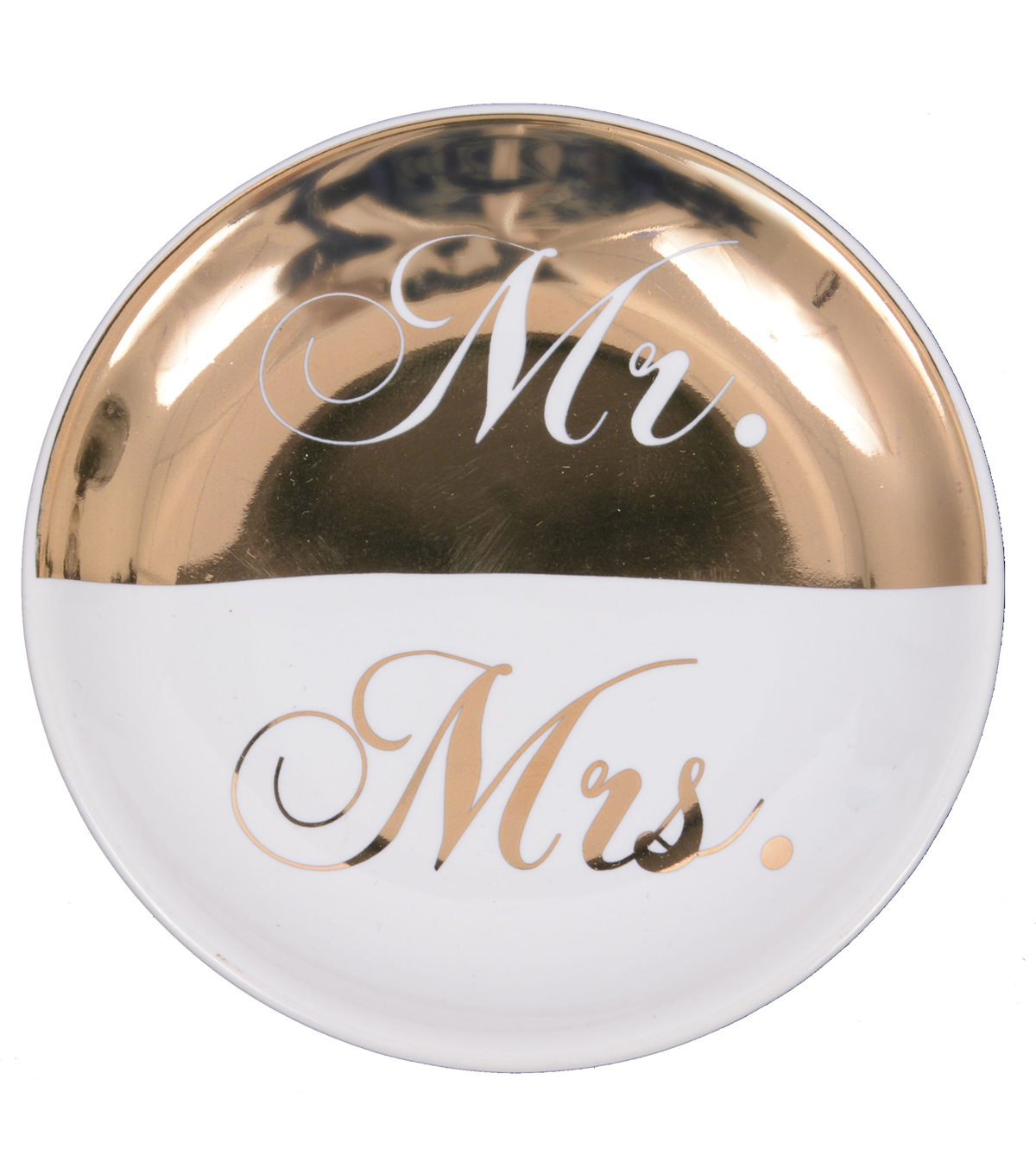 Save The Date Trinket Dish-Mr. & Mrs.