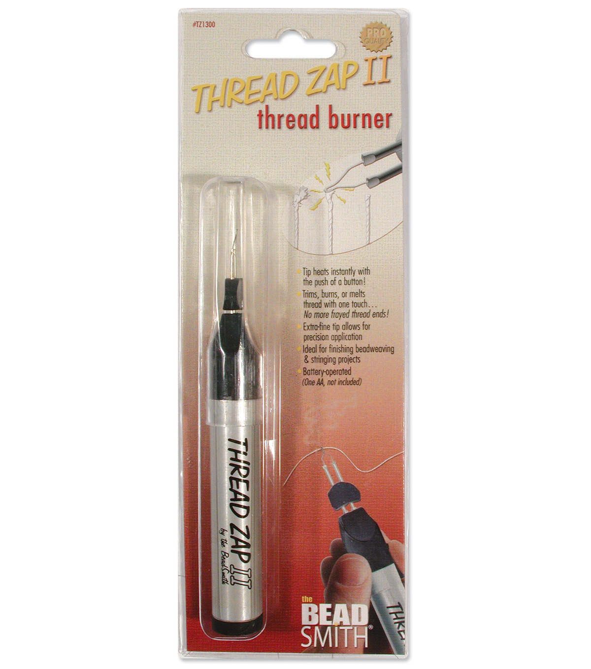 Beadsmith Thread Zap II Battery Operated