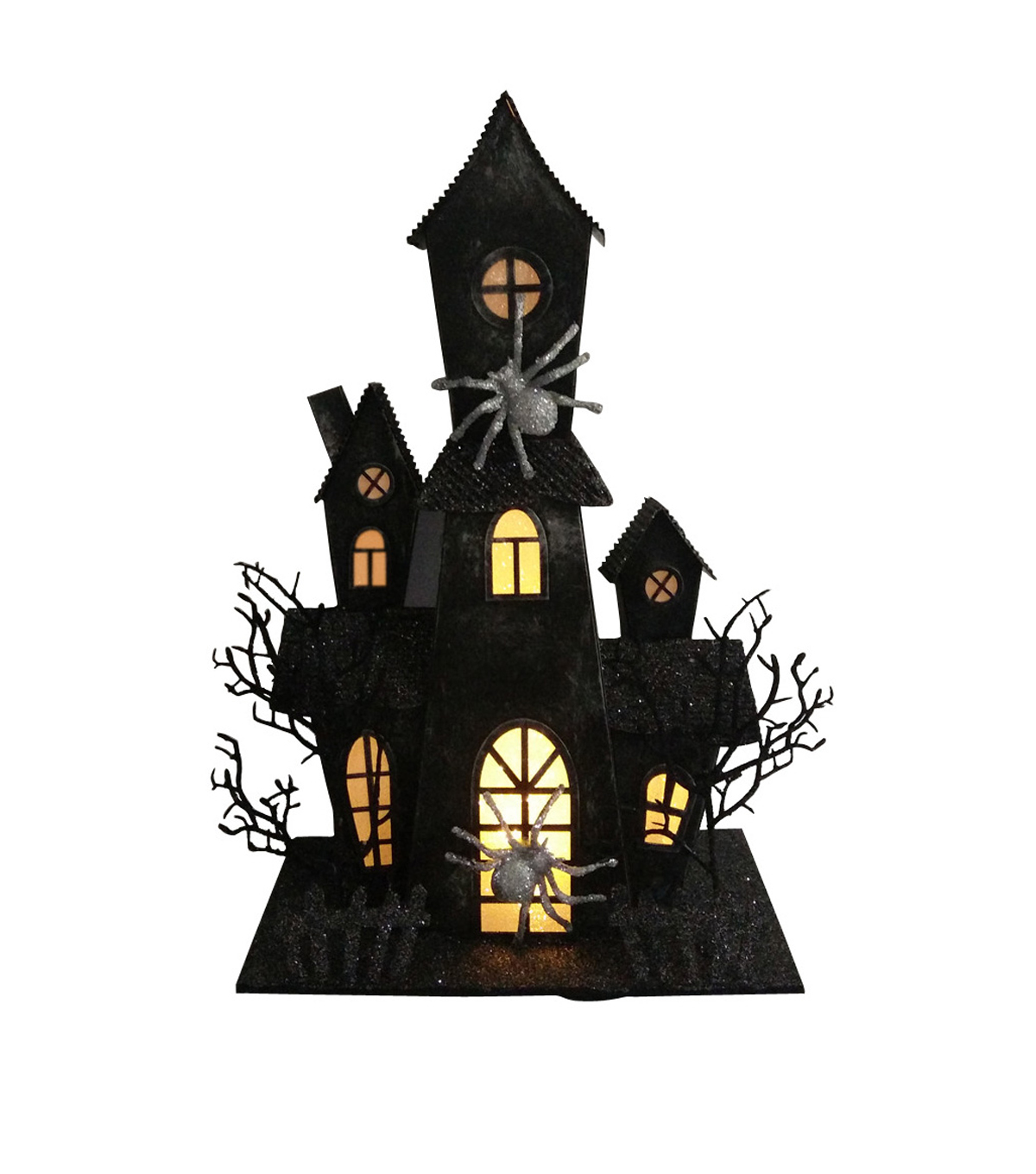 Maker's Halloween Haunted House with LED-Black | JOANN on haunted house design plans, cat room design ideas, haunted house kitchen, red room design ideas, haunted house bathroom, football room design ideas, crafts room design ideas, haunted house foyer, pool room design ideas, haunted house maze floor plan, western room design ideas, space room design ideas, basketball room design ideas, haunted house wall coverings, haunted house furniture, haunted house interior design, emergency room design ideas, haunted house restaurants, haunted house bedroom, haunted house basement,