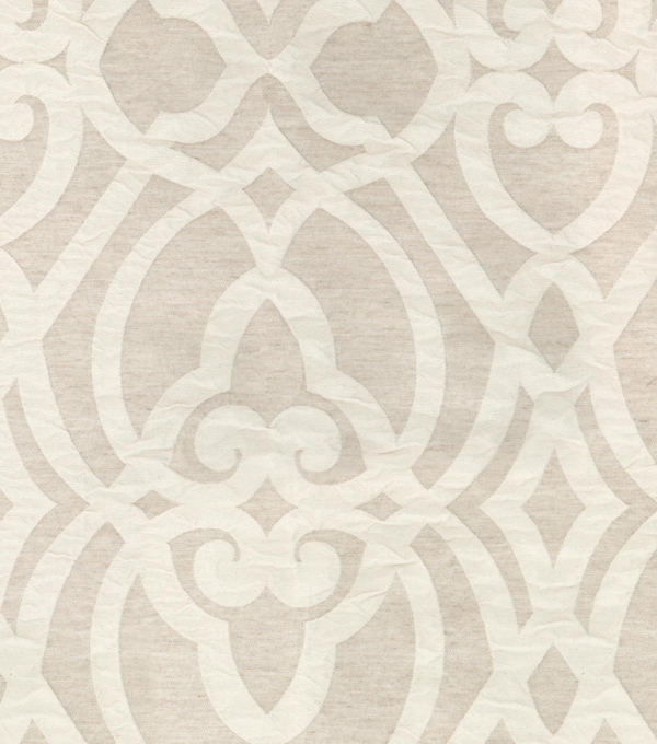 P/K Lifestyles Upholstery 8x8 Fabric Swatch-Lux Lattice/Linen