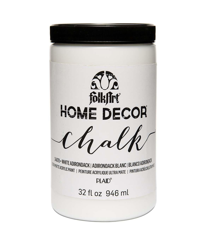 Folkart Home Decor Chalk 32oz White