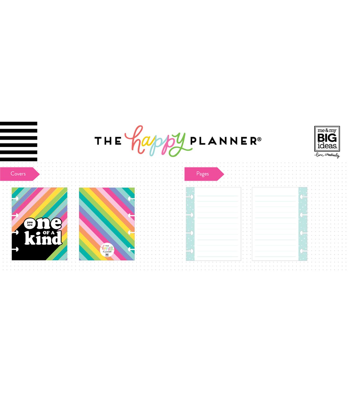 The Happy Planner Happy Notes Micro Notebook-You are One of a Kind