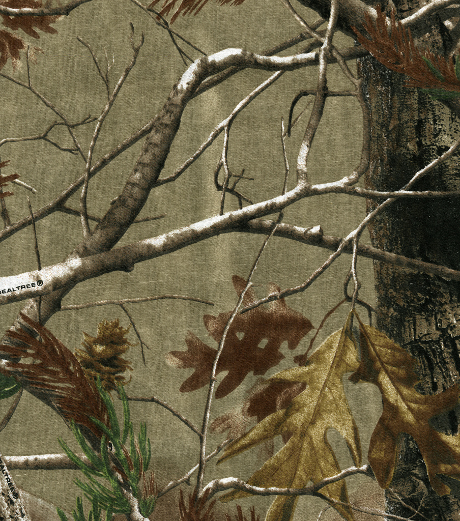 Realtree Shirting Fabric -Camouflage